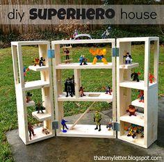 diy SUPERHERO house