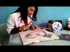 Filografi Sanatı Nasıl Yapılır ( Taş Süsleme ) - YouTube