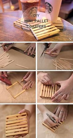 Cute diy crafts to sell easy and cheap crafts to make and sell Craft Stick Crafts, Fun Crafts, Diy And Crafts, Crafts For Kids, Crafts To Make And Sell Easy, Decor Crafts, Diy Crafts Cheap, Wood Sticks Crafts, Diy Crafts For Bedroom