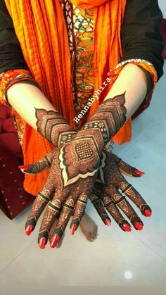 Kashee's Mehndi Designs, Arabic Bridal Mehndi Designs, Pretty Henna Designs, Finger Henna Designs, Mehndi Designs For Girls, Mehndi Designs For Beginners, Mehndi Design Pictures, Latest Mehndi Designs, Khafif Designs