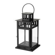 BORRBY Lantern for block candle IKEA Suitable for both indoor and outdoor use. 7.99