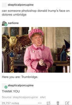 """""""Thank you, Harry Potter fandom. You never disappoint me. """""""