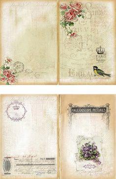 Passport to Paris and some journal freebies - Art Journal - Paper Vintage Labels, Vintage Ephemera, Vintage Cards, Vintage Clip, Journal Paper, Journal Cards, Junk Journal, Scrapbooking Layouts, Scrapbook Paper