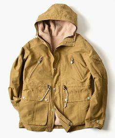 "SHIPS別注!""FIDELITY""の3wayマウンテンパーカーが予約販売開始! / |SHIPS|シップス公式通販サイト|SHIPS ONLINE SHOP Military Jacket, Raincoat, Jackets, Fashion, Rain Jacket, Down Jackets, Moda, Field Jacket, Fashion Styles"