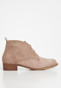 Lacey desert boot - blush Superbalist Boots | Superbalist.com Desert Boots, Two By Two, Blush, Footwear, Ankle, Heels, How To Wear, Women, Fashion