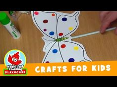 Butterfly Craft for Kids | Maple Leaf Learning Playhouse - YouTube