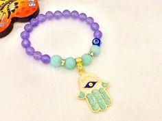 SALE  BOHO AMAZONITE bracelet-gypsy bracelet  ethnic by Nezihe1