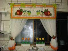 Аппликации на шторы для кухни