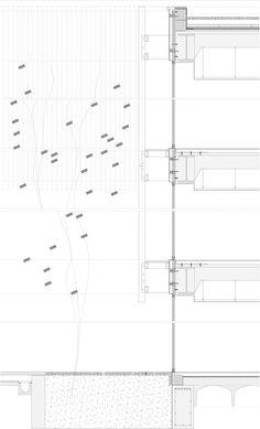 Galería de Centro Cívico Municipal de Boecillo / José Manuel Martínez Rodríguez… Architecture Sketchbook, Architecture People, Architecture Wallpaper, Architecture Collage, Architecture Graphics, Architecture Visualization, Architecture Portfolio, Concept Architecture, Facade Architecture