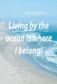 Oh how I'd love to hear the crashing of waves on a daily basis ~ it so calms my soul. <3