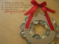 Elise Blaha :: enJOY it.: deck the walls with wreaths of tin.
