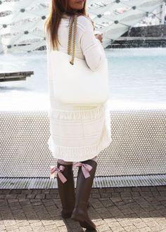 GUMMIE wellies <3 With sweet bows! OOTD www.gummiestore.com Ootd, Sweet, Sweaters, Dresses, Fashion, Candy, Vestidos, Moda, Fashion Styles