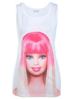 Barbie Dip Dye Hair Vest