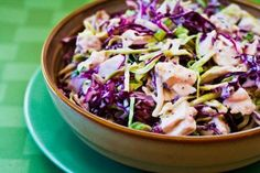 When you have leftover rotisserie chicken, make this delicious phase one salad with cabbage and mustard-celery seed dressing.  [Kalyn's Kitchen]
