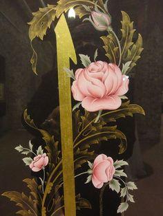 Glue Art, Caligraphy, Islamic Art, My Drawings, Art History, Flower Art, Folk Art, Decoupage, Embroidery