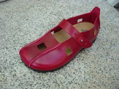 SHIPPING FREE Red Leather ShoesShoes red Shoes Close by BIOWORLD