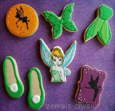 Tinkerbell cookies