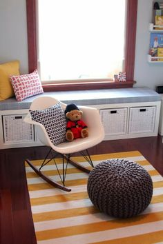 the boo and the boy: rockers in kids' rooms