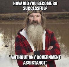 How'd you become so successful?  Duck Dynasty