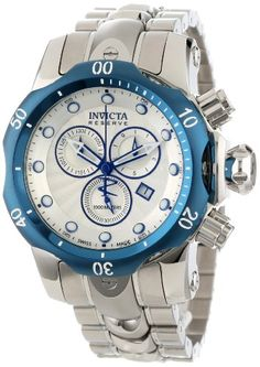Invicta Men's 10806 Venom Reserve Chronograph Silver Textured Dial Stainless Steel Watch Invicta,http://www.amazon.com/dp/B00ATUF4SO/ref=cm_sw_r_pi_dp_8KM.sb1TS5WH8CRJ
