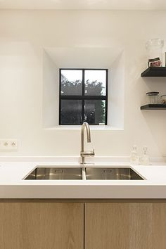 Interior Windows, Interior And Exterior, Interior Design, Window Reveal, Kitchen Utilities, Interior Concept, Smart Kitchen, Modern Barn, Beautiful Kitchens