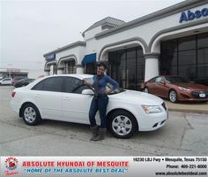 #HappyAnniversary to Elonda J Patton on your 2009 #Hyundai #Sonata from Teal Omar at Absolute Hyundai!