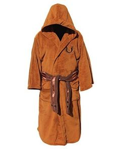 Amazon.com  Star Wars Jedi Master Fleece Bathrobe  Clothing Star Wars Jedi 648ccfa0d