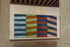 Sean Scully, Slope (2015) © Claudio Abate