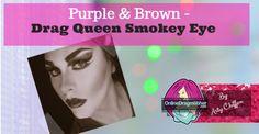 Squarespace - Claim This Domain Drag Queen Makeup, Drag Makeup, Smokey Eye, Eyeshadow, Purple, Brown, Image, Eye Shadow, Eye Shadows