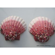 Glitter Sea Mermaid Diamond Pearl Seashell Sea Shell