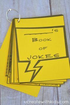 Little Joke Book for Kids - free printable!