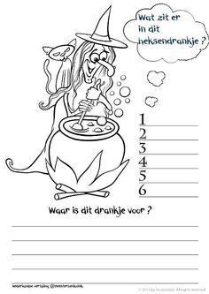 Dit en meer op meester Henk - HERFST :: meesterhenksherfst.yurls.net (Nederlandse vertaling @meester Henk) Projects For Kids, Diy For Kids, Halloween Yard Decorations, Halloween Kids, Spelling, Teaching, School, Cute Pictures, Drawings