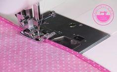 Aprende a coser dobladillos finos o enrollados de una manera fácil y rápida