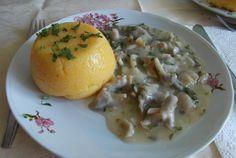 Ciulama de ciuperci, de post Foodies, Eggs, Meat, Chicken, Breakfast, Vegetarian, Homemade Food, Homemade, Mushroom