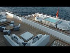Explore the interior of the $195 million explorer yacht Ulysses! - Ocean Of News