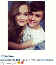 they've already been together for a year? fandom time moves too fast.but they are soo cute together! and btw you look gorgeous in this pic :) xx Tomlinson Tomlinson Family, Lottie Tomlinson, Moving Too Fast, Fake Life, Cutest Couple Ever, 1d Imagines, Cher Lloyd, One Direction Harry, Louis Williams