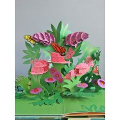 paper blossoms butterflies & birds a book of beautiful bouquets for the table - Cerca con Google