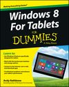Windows For Tablets For Dummies:Book Information and Code Download - For Dummies