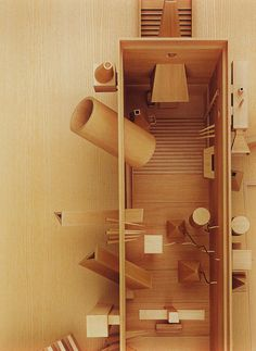 John Hejduk: Cathedral. Published in K. Michael Hays, Sanctuaries, Whitney Museum, New York. 2002.