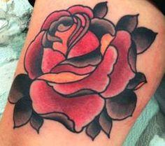 Rose tattoo - Stevie Scott - QLD