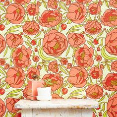Hand-drawnby featured designer Caitlin Keegan. This fun + feminine print is a best seller and will brighten any space!