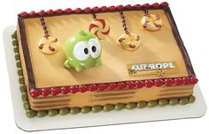 Cut the RopeOm Nom Cake Kit by ABirthdayPlace on Etsy, $8.99