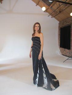 Italian Grazia: Livia Firth in Armani for the Green Carpet Challenge