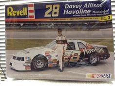Revell Davey Allison Havoline #28 Thunderbird  NASCAR 1/24th Model Kit 2000 RLS  #RevellMonogram