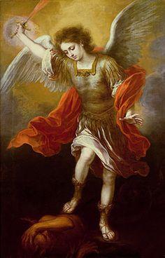 esteban bartolome murillo   Bartolomé Esteban Murillo, St. Michael, 1666   Flickr - Photo Sharing ...