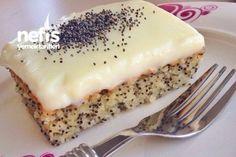 How to make Poppy Cake Recipe? Illustrated explanation of Poppy Cake Recipe in the book of peo Best Cake Recipes, Dessert Recipes, Desserts, Turkish Recipes, Italian Recipes, Pasta Cake, Turkish Sweets, Tasty, Yummy Food