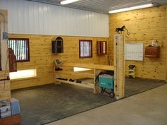 05-536_Lake_Elmo_MN - another view of the well organized grooming stalls