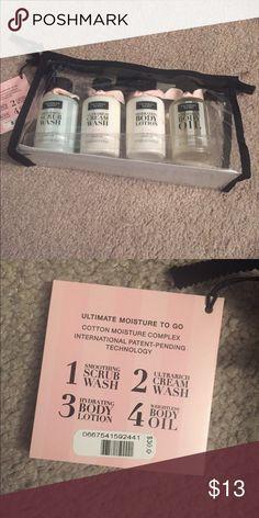 "Victoria Secret ""Acai"" Beauty Bag Brand New- includes a 3.4oz scrub wash, 3.4oz cream wash, 3.4oz body lotion, and a 3.4oz body oil Victoria's Secret Other"