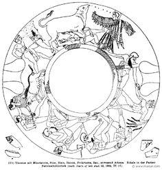 RV-0731.jpg - RV-0731: Deeds of Theseus. Wilhelm Heinrich Roscher (Göttingen, 1845- Dresden, 1923), Ausfürliches Lexikon der griechisches und römisches Mythologie, 1884.