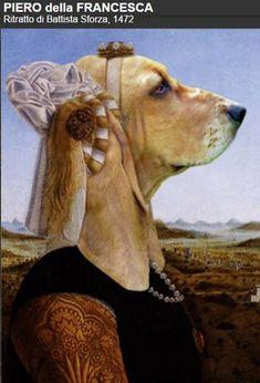 Creative Portraits, Dog Portraits, Basset Hound, Dog Art, Opera, Art Prints, Illustration, Artist, Poster